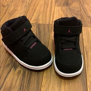 Baby girls Nike Jordan's shoes